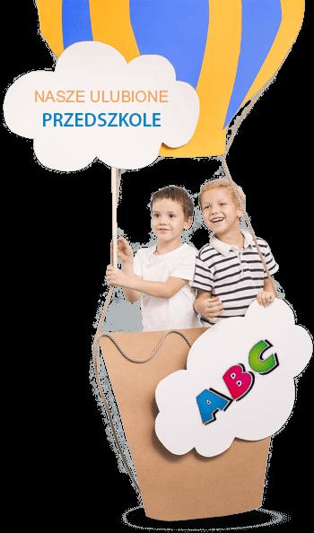 przedszkolaki w balonie